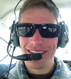 jesse tracking in a plane